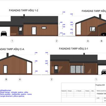Architektas, projektavimas / RN projektai / Darbų pavyzdys ID 534009