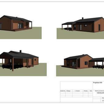 Architektas, projektavimas / RN projektai / Darbų pavyzdys ID 534011
