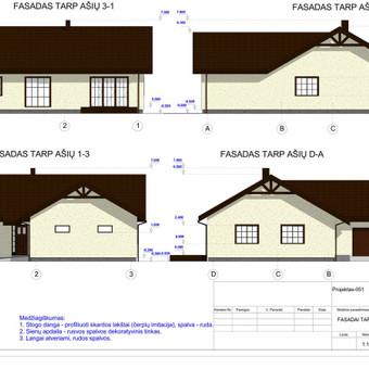 Architektas, projektavimas / RN projektai / Darbų pavyzdys ID 534021