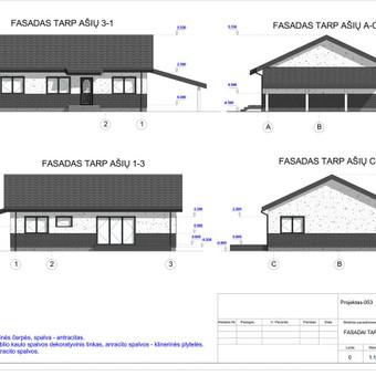 Architektas, projektavimas / RN projektai / Darbų pavyzdys ID 534033