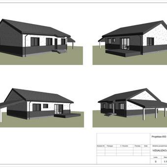 Architektas, projektavimas / RN projektai / Darbų pavyzdys ID 534035