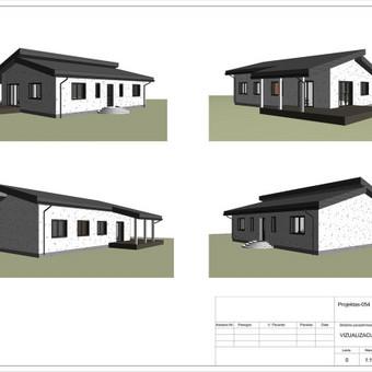 Architektas, projektavimas / RN projektai / Darbų pavyzdys ID 534041