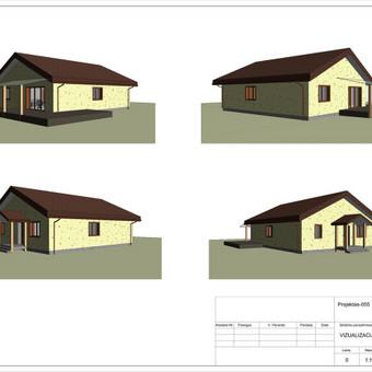 Architektas, projektavimas / RN projektai / Darbų pavyzdys ID 534047