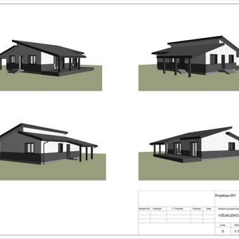 Architektas, projektavimas / RN projektai / Darbų pavyzdys ID 534059