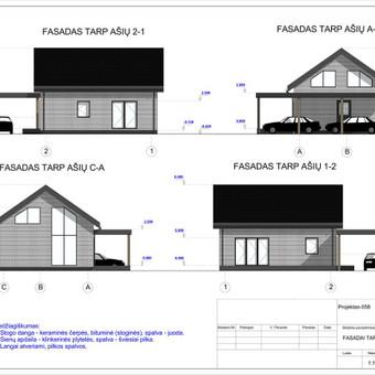 Architektas, projektavimas / RN projektai / Darbų pavyzdys ID 534063