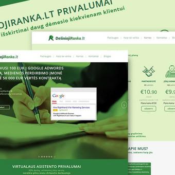 reklamos agentūra | Efektyvios interneto svetainės / Laisvalaikio Renginiai MB / Darbų pavyzdys ID 534781
