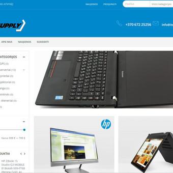 Internetinė parduotuvė, prekiaujanti kompiuterine įranga