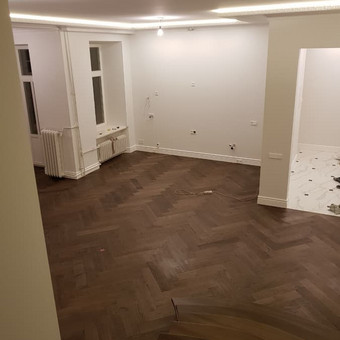 """Osmo Meistrai / medinių grindų įrengimas ir apdaila / UAB """"OSMO LIETUVA"""" / Darbų pavyzdys ID 536979"""