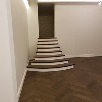 """Osmo Meistrai / medinių grindų įrengimas ir apdaila / UAB """"OSMO LIETUVA"""" / Darbų pavyzdys ID 536983"""