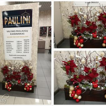 Kalėdinės dekoracijos namams, ofisams / Gėliu mergaitė / Darbų pavyzdys ID 537907