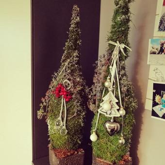 Kalėdinės dekoracijos namams, ofisams / Gėliu mergaitė / Darbų pavyzdys ID 537913