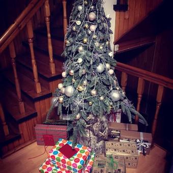 Kalėdinės dekoracijos namams, ofisams / Gėliu mergaitė / Darbų pavyzdys ID 537919