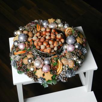 Kalėdinės dekoracijos namams, ofisams / Gėliu mergaitė / Darbų pavyzdys ID 537923