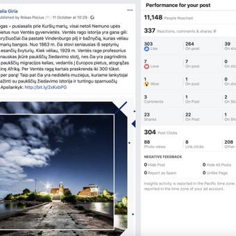 Socialinų tinklų komunikacijos ir reklamos specialistas / Rokas Pocius / Darbų pavyzdys ID 540757
