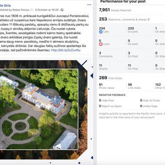 Socialinų tinklų komunikacijos ir reklamos specialistas / Rokas Pocius / Darbų pavyzdys ID 540759