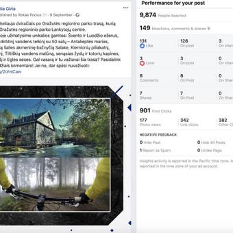 Socialinų tinklų komunikacijos ir reklamos specialistas / Rokas Pocius / Darbų pavyzdys ID 540761
