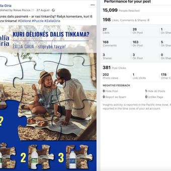 Socialinų tinklų komunikacijos ir reklamos specialistas / Rokas Pocius / Darbų pavyzdys ID 540763