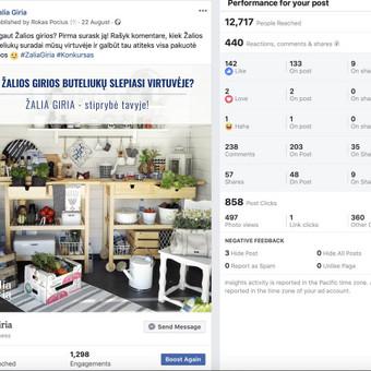 Socialinų tinklų komunikacijos ir reklamos specialistas / Rokas Pocius / Darbų pavyzdys ID 540765