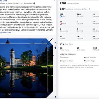 Socialinų tinklų komunikacijos ir reklamos specialistas / Rokas Pocius / Darbų pavyzdys ID 540769