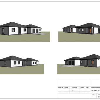 Architektas, projektavimas / RN projektai / Darbų pavyzdys ID 542381