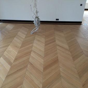Medinių grindų įrengimas / Arnas / Darbų pavyzdys ID 75915