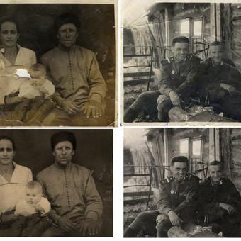 Nuotraukų restauravimas / Реставрация фотографий / Photo Restorer / Darbų pavyzdys ID 545451