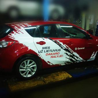 Iškabos, šviesdėžės, auto apklijavimas ir kitokia reklama / UAB Forica / Darbų pavyzdys ID 548599