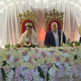 Vestuvės Jelgavoje, Latvija