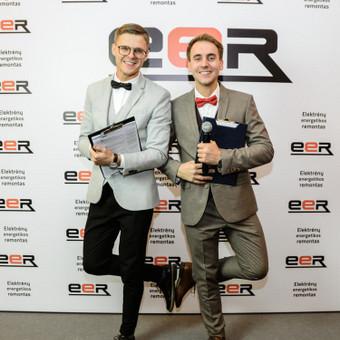 Renginių vedėjas Evaldas Jankantas kartu su DJ komanda / Evaldas Jankantas / Darbų pavyzdys ID 548953