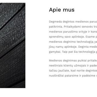 Tekstų kūrėja / Copywriter (LT/EN) CraftMark Studio / Neringa Klevaitė-Vežbickienė / Darbų pavyzdys ID 549627