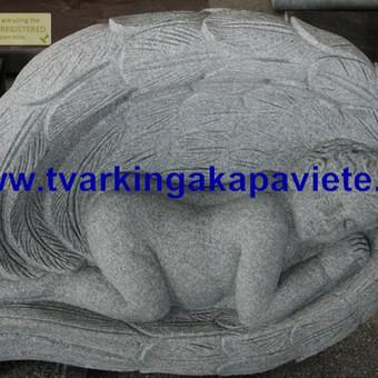Paminklai, antkapiai, granito plokštės, kapų tvarkymas / TVARKINGA KAPAVIETĖ / Darbų pavyzdys ID 550201