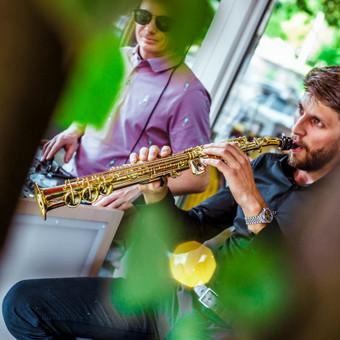 Saksofonistas/Profesionalių muzikantų grupė / Profesionalūs muzikantai / Darbų pavyzdys ID 550405