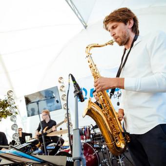Saksofonistas/Profesionalių muzikantų grupė / Profesionalūs muzikantai / Darbų pavyzdys ID 550407