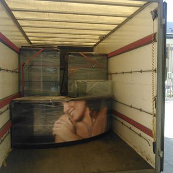 Perkraustymo paslaugos / Krovinių Pervežimas / Darbų pavyzdys ID 551053
