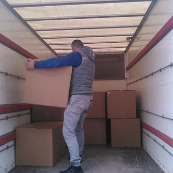 Perkraustymo paslaugos / Krovinių Pervežimas / Darbų pavyzdys ID 551057