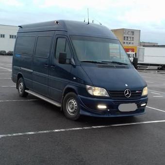 Keleivių pervežimas - mikroautobuso nuoma su vairuotoju / Ramūnas Karalius / Darbų pavyzdys ID 553955