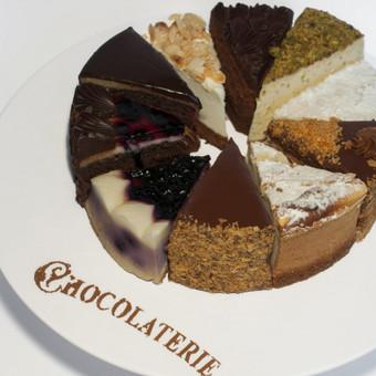 Šokolado meistras / Chocolaterie Ch / Darbų pavyzdys ID 77031