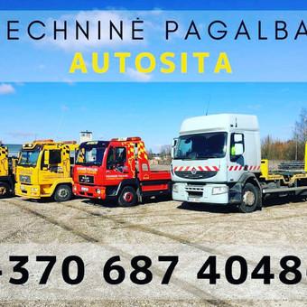 """AUTOSITA Techninė pagalba kelyje. Traliukas. / UAB """"Autosita"""" / Darbų pavyzdys ID 556205"""