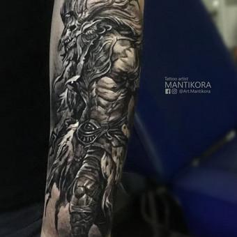 Kietos tattoo tik kietiems. / Evaldas(Mantikora) / Darbų pavyzdys ID 556617