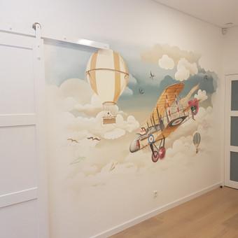 Dailininkas Vilniuje, Sienų tapyba, Aerografija / Ksystof Cetyrkovski / Darbų pavyzdys ID 559613