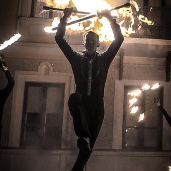Ugnies Teatro šou / Ugnies teatras / Darbų pavyzdys ID 561357