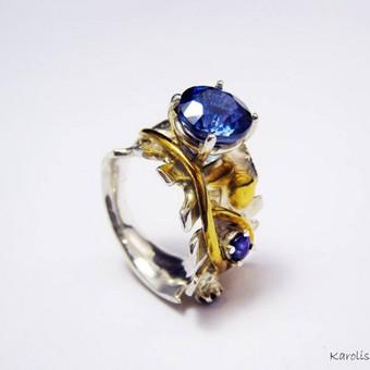 Žiedas autorinė juvelyrika