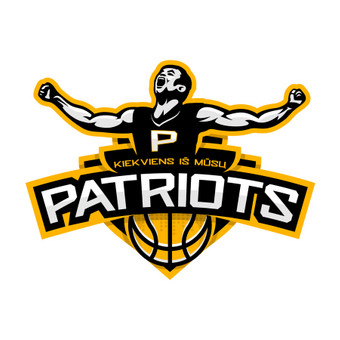 Kiekviens iš mūsų PATRIOTS - krepšinio komandos logotipas.  Logotipų kūrimas | www.glogo.eu - logo creation.