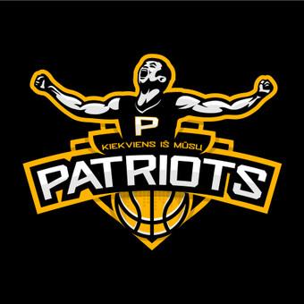 PATRIOTS - krepšinio komandos logotipas.  Logotipų kūrimas | www.glogo.eu - logo creation.