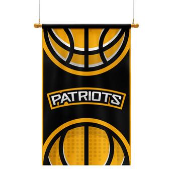 PATRIOTS  krepšinio komandos vėliava | www.glogo.eu - logo creation.
