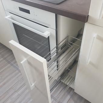 Baigtos virtuvės mazgas