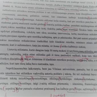 Patyrusi kūrybinga redaktorė / Dangutė A. / Darbų pavyzdys ID 564725
