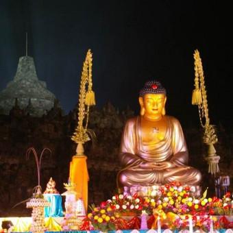 Vesak diena, Borobuduro šventyklą, Javos sala