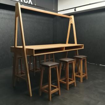 Mediniai baldai pagal užsakymą / UAB Medžio interjeras / Darbų pavyzdys ID 571235
