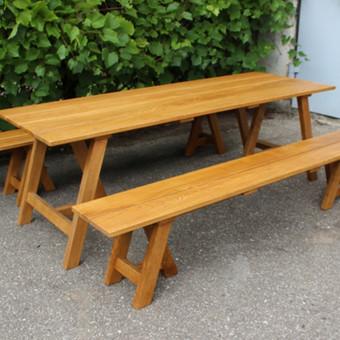 Mediniai baldai pagal užsakymą / UAB Medžio interjeras / Darbų pavyzdys ID 571237